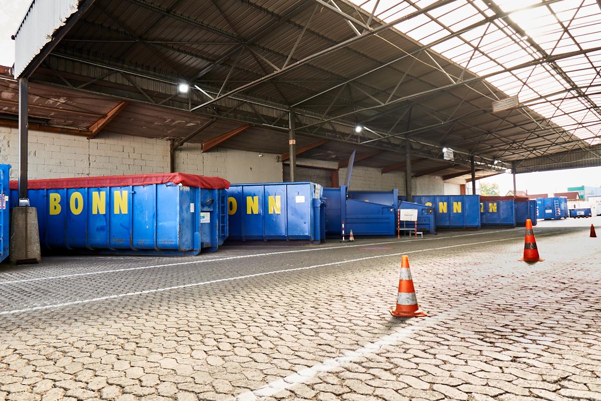 BONN Abfallwirtschaft Betriebsstätten - Recyclinghof Süd Fürth