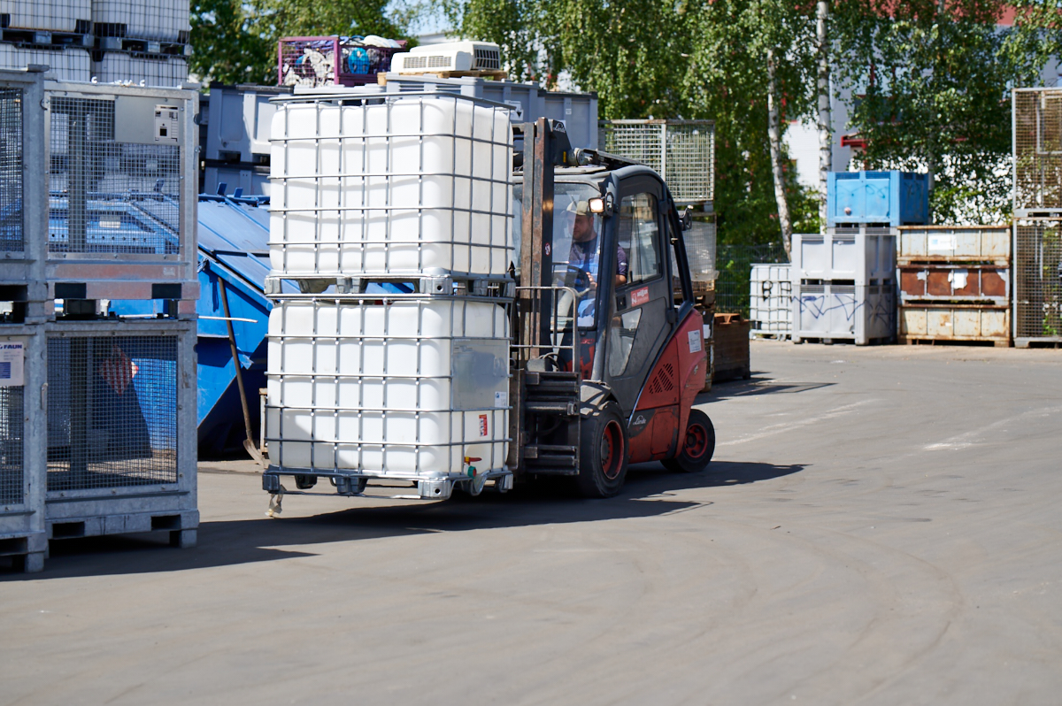 BONN Abfallwirtschaft Betriebsstätten - Wertstoffhof Schwabach