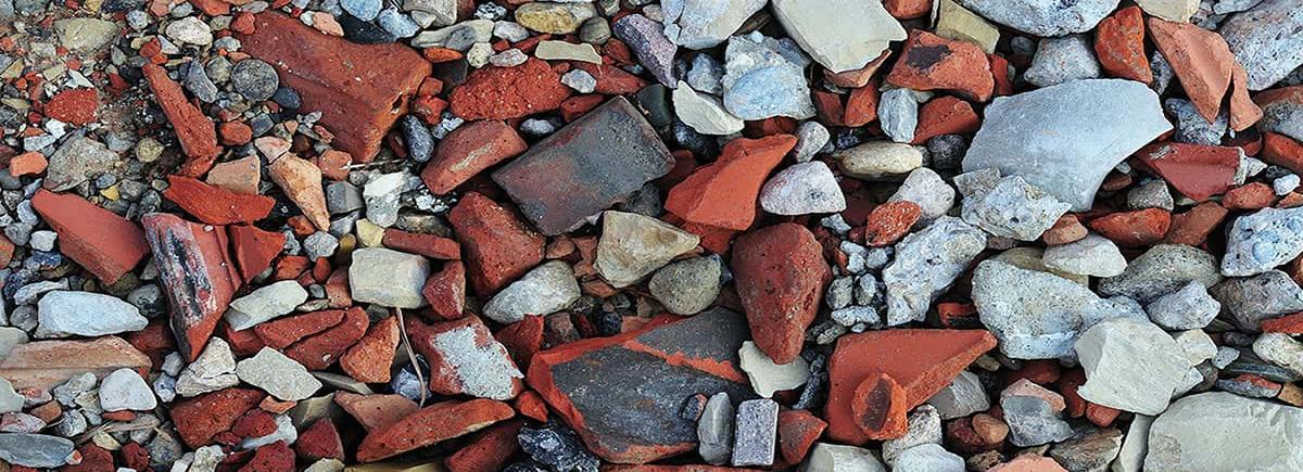 Bauschutt-Abfallart-Abfallfraktion